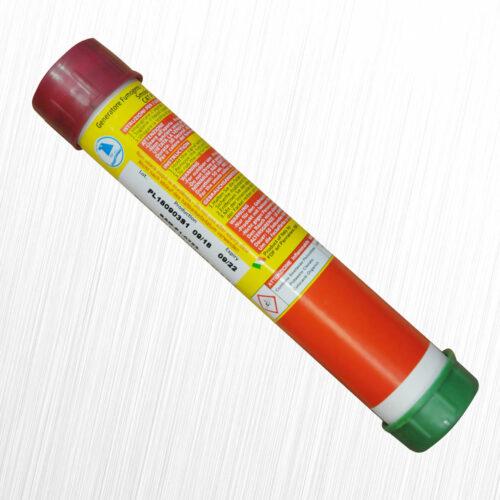 Mr Smoke 1 włoska świeca dymna granata ciemna czerwień FDF 1szt