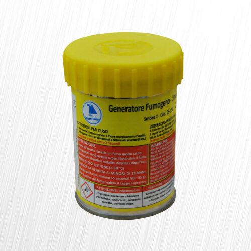 Mr Smoke 2 włoska świeca dymna giallo żółta FDF 1szt