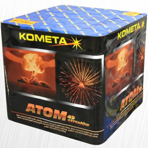 Atom wyrzutnia 49 strzałów P7616 MagicTime