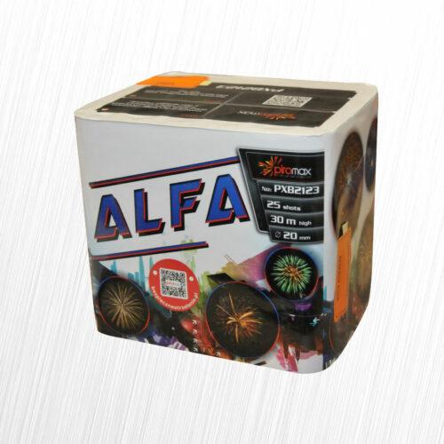 Alfa bateria 25 strzałów PXB2123 Piromax