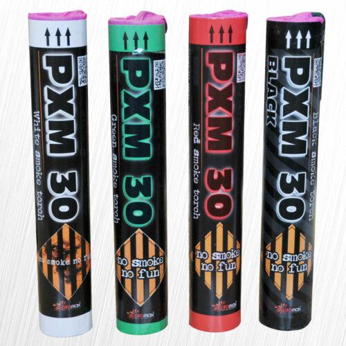 Świeca dymna PXM30 czerwona Piromax 1szt