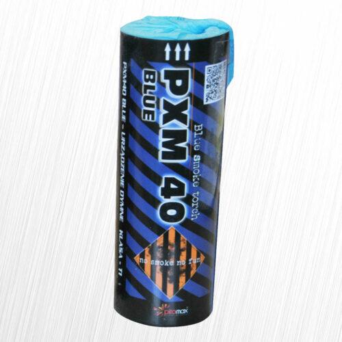 Świeca dymna PXM40 niebieska Piromax 1szt