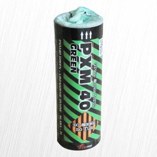 Świeca dymna PXM40 zielona Piromax 1szt