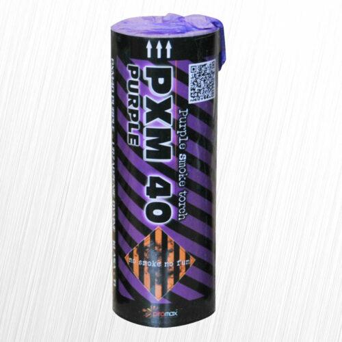 Świeca dymna PXM40 fioletowa Piromax 1szt