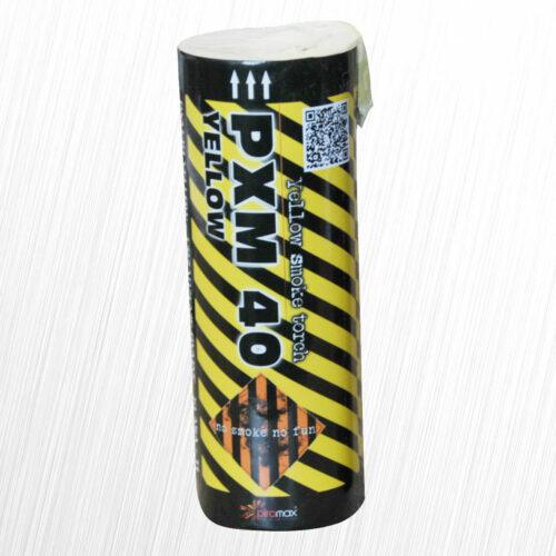 Świeca dymna PXM40 żółta Piromax 1szt