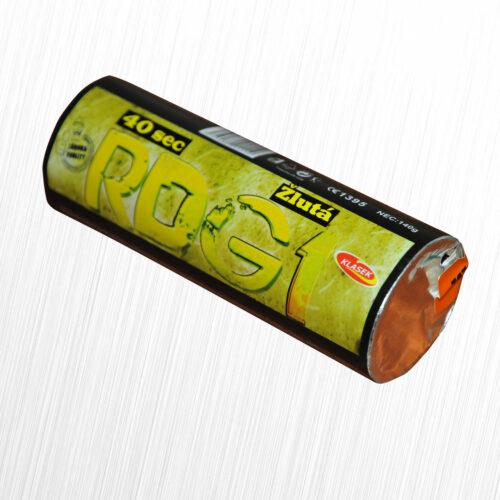 Granat dymny RDG-1 żółty Klasek 1szt