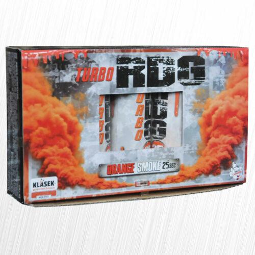 Turbo intensywny Generator Dymu RDG-25 czerwony Klasek 1szt