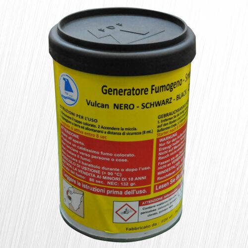 Potężny Generator Dymu Vulcan nero czarny FDF 1szt