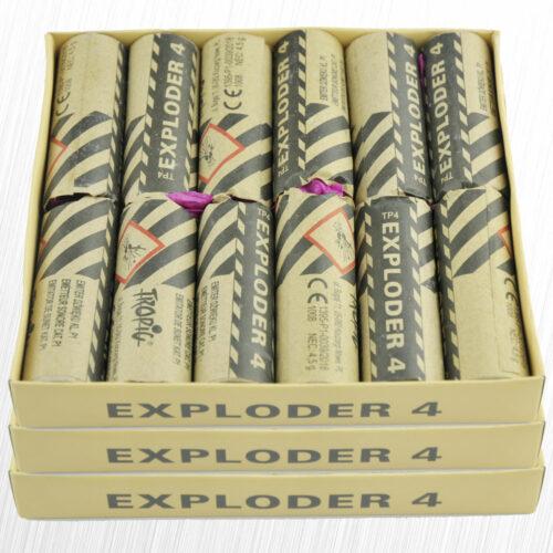 Emitery Dźwięku Exploder TP4 Oryginał Tropic 4,5 grama 36sztuk