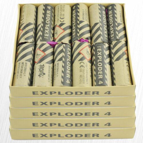 Emitery Dźwięku Exploder 4  TP4 Oryginał Tropic 4,5 grama 60sztuk