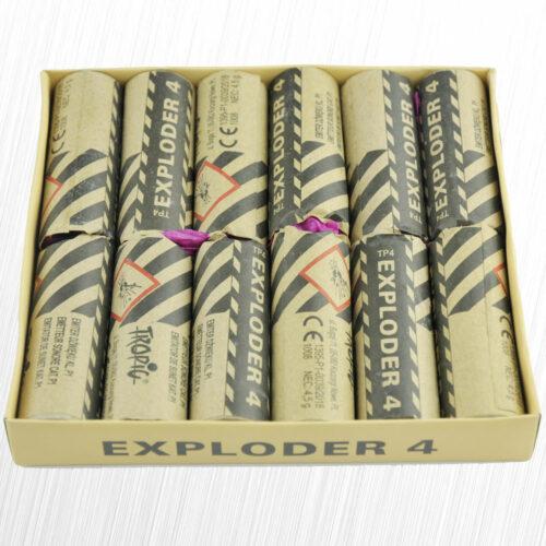 Emitery Dźwięku Exploder TP4 Oryginał Tropic 4,5 grama 12sztuk
