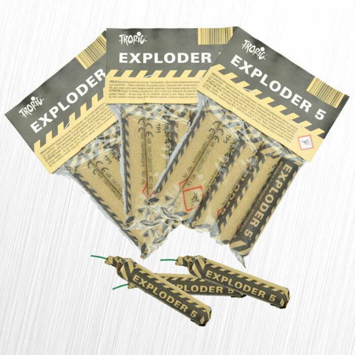 Emitery Dźwięku Exploder TP5 Oryginał Tropic 4,5 grama 15sztuk
