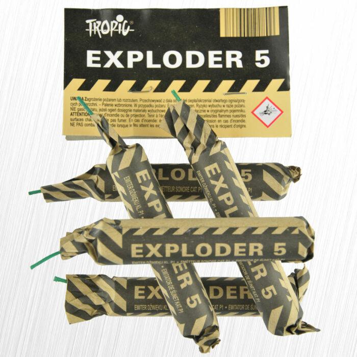 Emitery Dźwięku Exploder TP5 Oryginał Tropic 4,5 grama 5sztuk