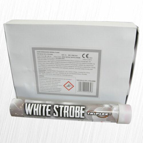 Flara stadionowa stroboskopowa biała TXF239-6 Triplex 1szt