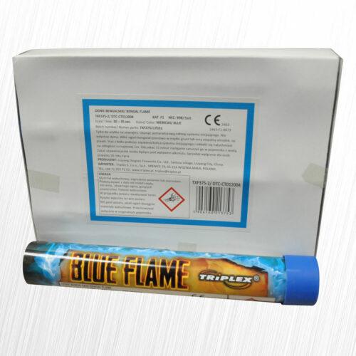 Flary stadionowe Blue Flame niebieska TXF375-2 Triplex 1szt