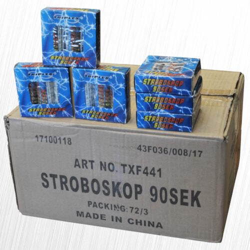 Stroboskop biały 90 sekund TXF441/UST-1-90-W 3szt