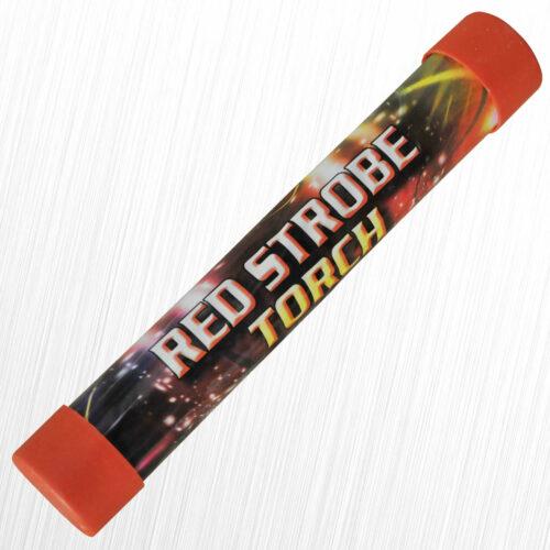 Flary stadionowe stroboskopowe czerwona TXF839 Triplex 5szt