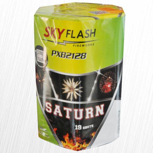 Saturn Sky Flash bateria 19 strzałów PXB2128 Piromax