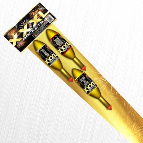 Potężne rakiety XXXL Rocket R170X Klasek 3szt