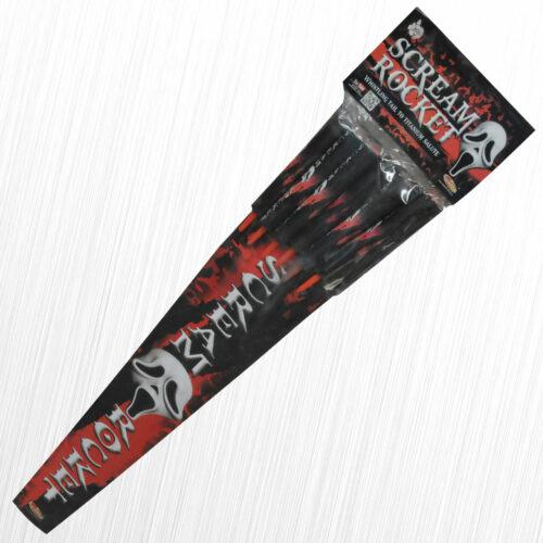 Gwiżdżące rakiety Scream RS6XS Klasek 6szt
