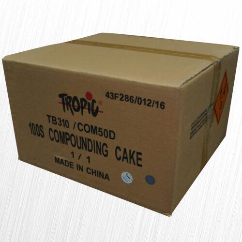 Wyrzutnia pokazowa Profi Compound Cake 100 strzałów TB310 Tropic