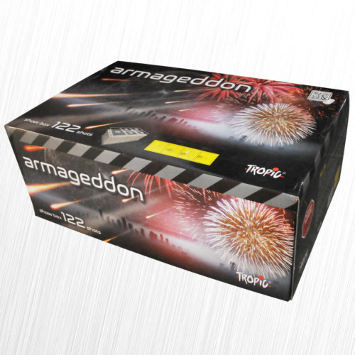 Zestaw pokazowy Armageddon Compound Cake 124 strzały TB402 Tropic