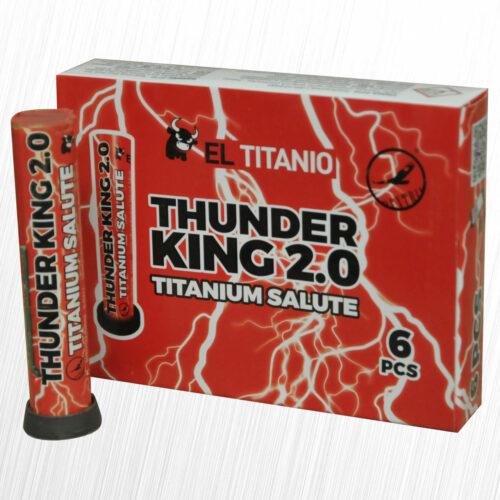 Thunder King 2.0 El Titanio TK22 Dextrin 6szt