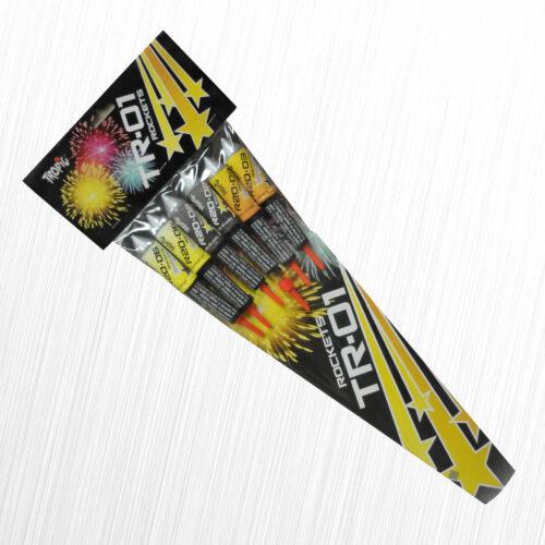 Rakiety Zestaw rakietek TR-01 Tropic 6szt