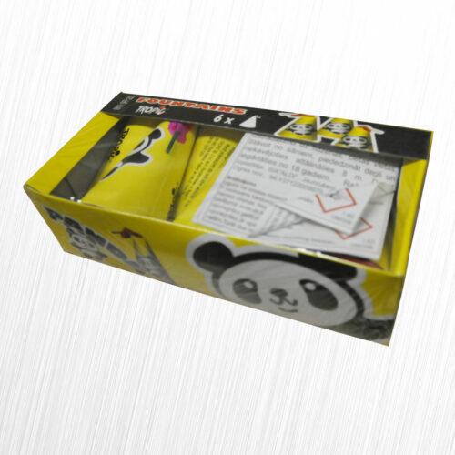 Panda 0819 Tropic 6sztuk