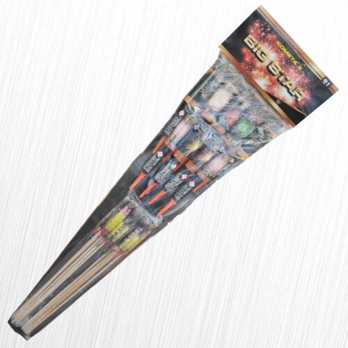 Rakiety Big Star Rocket P9810 Kometa/MagicTime 21szt